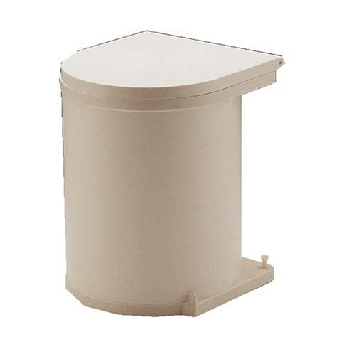 poubelle de porte de cuisine poubelle de porte automatique 1 seau de 13 litres bricozor
