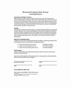 catering proposal template 9 free word pdf documents With how to write a catering proposal letter
