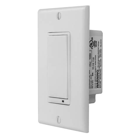 Gocontrol Wave Way Dimmer Switch Wtz The Home Depot