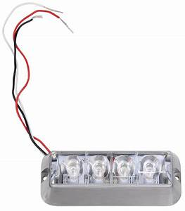 Custer 4-led Strobe Light Or Running Light