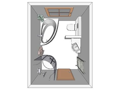 Kleines Bad Grundriss Dachschräge by Aufteilung Kleines Bad Bad Badezimmer