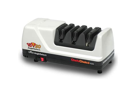 Chef S Choice Knife Sharpener How To Use by Chefschoice Hone Angleselect Knife Sharpener 1520