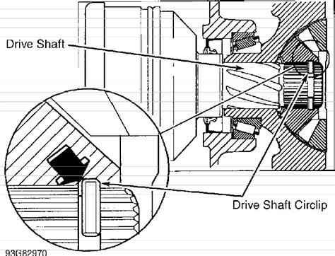 volvo  front axle driveshaft