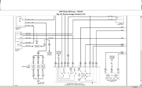 Mack Truck Dimmer Switch Wiring by I Drive A 1995 Ch613 Mack Truck And I Want To Check The