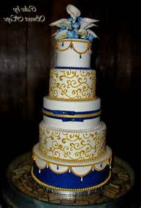 albertsons wedding cakes royal blue and gold wedding cakes archives decorating of