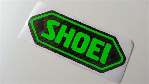 Shoei Helmet Motorcycle Decal Multi-layered Sticker