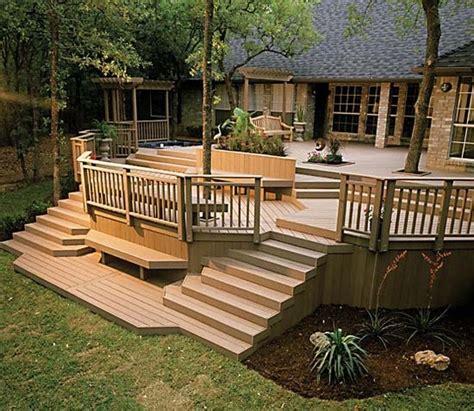 patio deck railing design   build  deck step  step