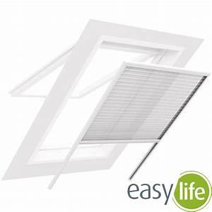 Insektenschutz Für Dachfenster : easy life insektenschutz plissee f r dachfenster mit ~ Articles-book.com Haus und Dekorationen