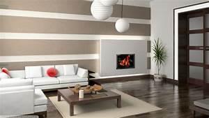 Wohnzimmergestaltung Mit Tapeten : 100 fantastische ideen f r elegante wohnzimmer ~ Sanjose-hotels-ca.com Haus und Dekorationen