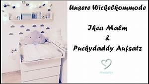 Malm Als Wickelkommode : unsere wickelkommode wickeltisch ikea malm puckydaddy aufsatz ninaslife youtube ~ Markanthonyermac.com Haus und Dekorationen