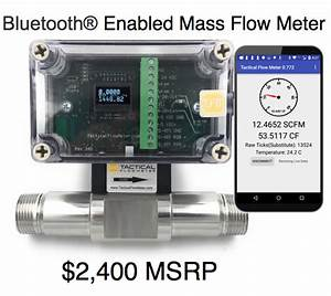 1 U0026quot  Tactical Flow Meter With Bluetooth U00ae