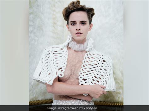 British Vanity Fair by Emma Watson Responds To Attention Seeking Hypocrite