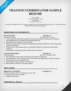 Covering letter for training coordinator covering letter for On the job training resume sample