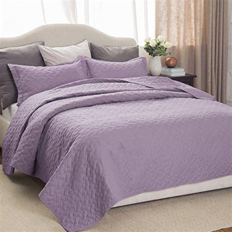 Lavender Coverlet by Quilt Sets 3 Bedding Lavender Size 90x96
