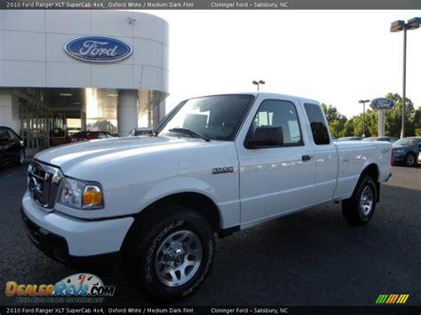 ford ranger xlt supercab  oxford white medium