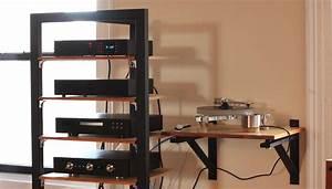 Meuble Hifi Bois : meuble chaine hifi ikea maison design ~ Voncanada.com Idées de Décoration