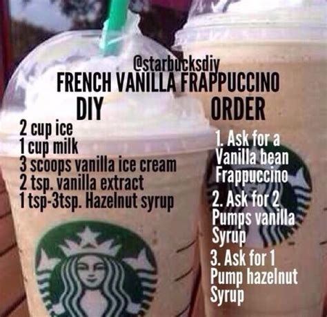 The key to their sweetness when you figure out how to make cowboy coffee it usually tastes better than the bags. How to Make Homemade Starbucks Frappuccinos : French Vanilla Frap #Make #Homemade #Starbucks in ...