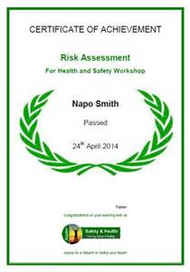 Risk Assessment Training Workshop Nottingham Risk