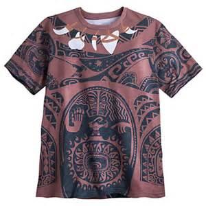 Disney Moana Maui Tattoo Shirt