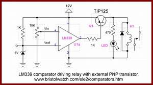 Comparator Circuits Examples Tutorial