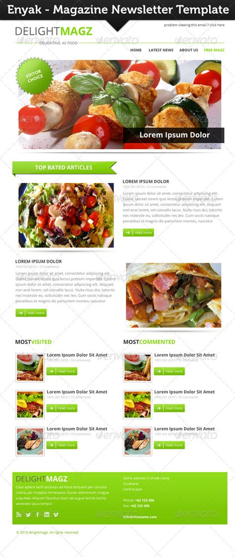 newsletter cuisine newsletter mock up tinkytyler org stock photos graphics