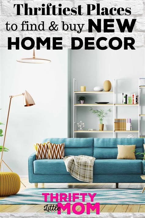 Buy Home Decor - thriftiest places near you for home decor furniture