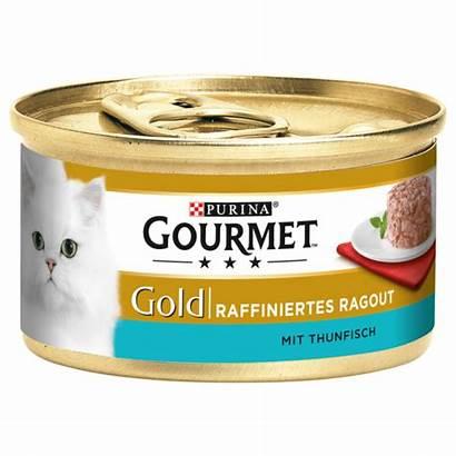 Gourmet Katzenfutter Rewe Nassfutter 85g Thunfisch Ragout