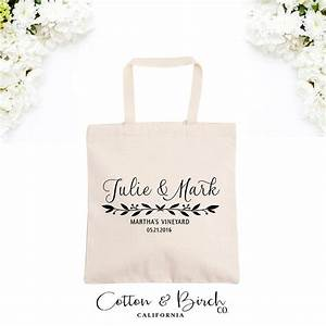 personalized wedding tote bag wedding guest bag With wedding gift tote bags