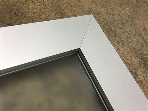 kitchen cabinet doors custom  modern aluminum frame