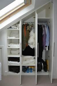Begehbarer Kleiderschrank Klein : begehbarer kleiderschrank dachschr ge tolle tipps zum selberbauen ~ Eleganceandgraceweddings.com Haus und Dekorationen