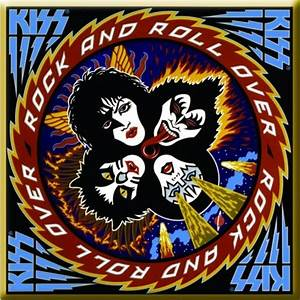 KISS Rock And Roll Over Album Cover Magnet