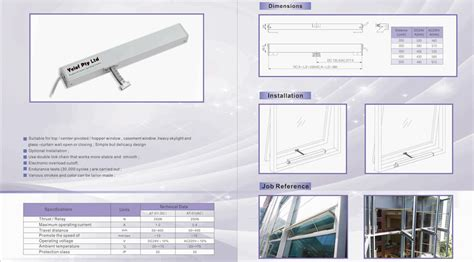 awning window electric chain winders supplier sydney