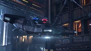 Police hovercraft cities future cars cyberpunk 2077
