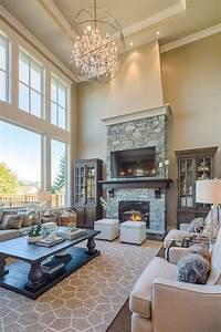 51 best high ceiling rooms images on pinterest With decorating ideas for living rooms with high ceilings