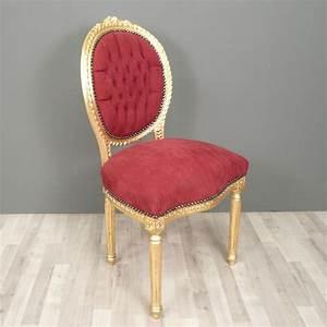 Chaise Louis Xvi : chaise louis xvi rouge pinterest chaise louis xv chaise louis xvi et louis xvi ~ Teatrodelosmanantiales.com Idées de Décoration