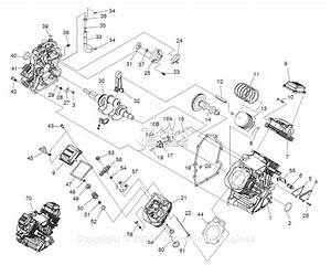 Generac 005682-0 Parts Diagram For Long Block