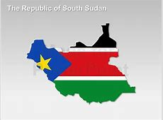 The Republic of South Sudan PowerPoint Map Editable