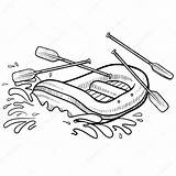 Rafting Whitewater Drawing Sketch Raft Illustration Vector Adventure Action Coloring Pages Lhfgraphics Getdrawings Swimming Sports Printable Doodle 출처 sketch template