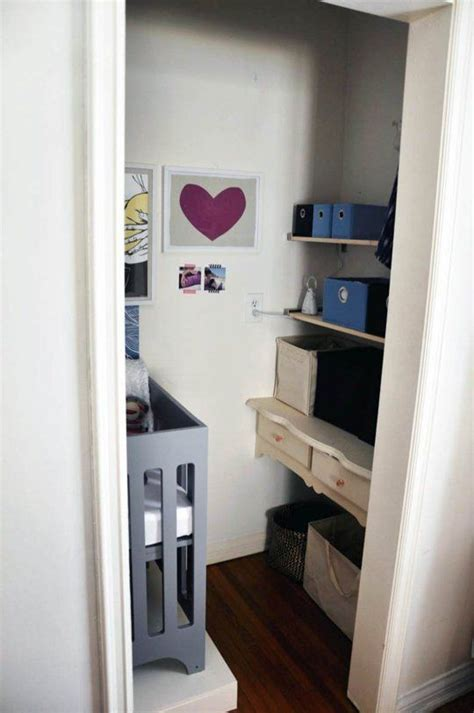 Small Space Style Baby Bristow's Closet Nursery Babies