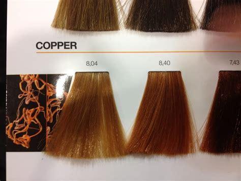 loreal inoa copper colour chart hair pinterest colour chart colors  hair
