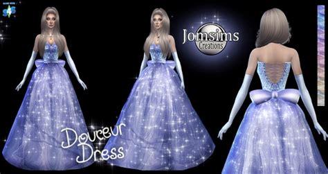 douceur princess dress  jomsims creations sims  updates