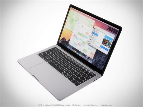 home design app for mac macbook pro concept shows oled touchscreen fits perfectly