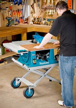 makita table  mm  complete  stand