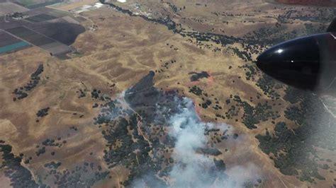 acre wildfire burns  salinas