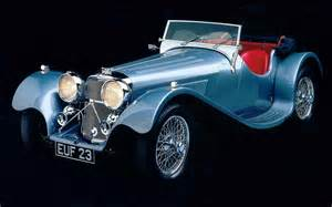 1935 Jaguar SS100 - Milestones