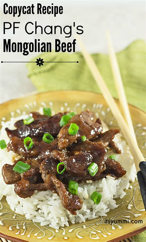 pf changs recipes copycat mongolian beef  yummi