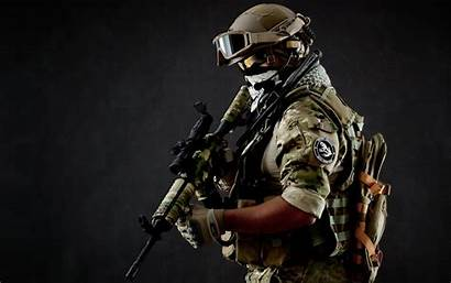 Army Military Soldier Gun Weapon Wallpapers Wallpaperup