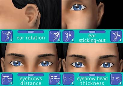 Sims Sliders Chin Cleft Definition Cc Modthesims
