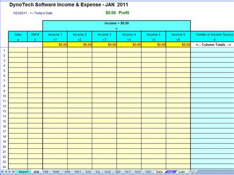 monthly business expense template free monthly expense spreadsheet onlyagame