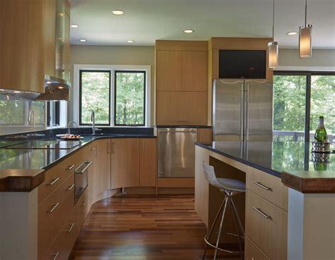 neff cabinets ge monogram appliances calligaris stools curved island quartz countertop